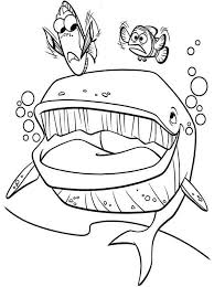 Dory Finding Nemo Coloring Pages At Getdrawingscom Free For
