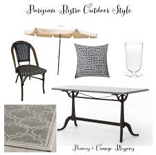 parisian bistro outdoor style for less