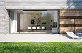 schuco ass 70 hi lift and slide patio doors are operated by turning the handle which effortlessly lifts the patio door sash
