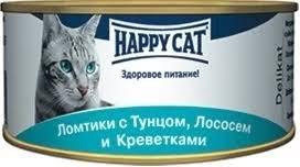 <b>Консервы Happy Cat</b> ломтики для кошек 85 г - купить в ЮниЗоо в ...