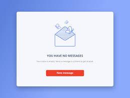 Empty inbox Tim Sneath Empty Inbox Elive Ltd Empty Inbox By Ivona Design Dribbble Dribbble