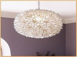 capiz lotus flower chandelier small home design ideas pertaining to brilliant property lotus flower chandelier plan