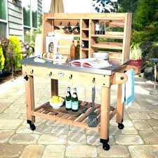 serving cart outdoor patio food ikea bar diy kitchen
