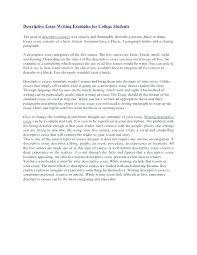 Example Essays Topics Gorgeous Examples Of Descriptive Essay Topics Example Of Descriptive Essay