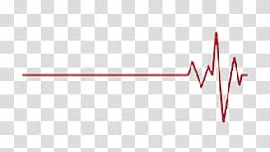 Heart Beat Chart Red Lifeline And Heart Illustration Ecg Line Transparent