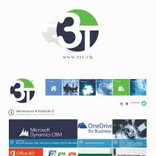 3t Design Modern Professional It Company Logo Design For 3t By 786