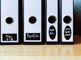 binder spine labels easy and minimalist solution for binder spine labels