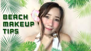 beach makeup look plus tips beach