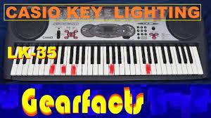Casio Lk 190 61 Key Premium Lighted Keyboard Casio Lk 35 Lighting Keyboard Demo And Review Same Same