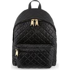 Moschino quilted backpack ($620) ❤ liked on Polyvore featuring ... & MOSCHINO Quilted backpack ($1,760) ❤ liked on Polyvore featuring bags,  backpacks, moschino Adamdwight.com