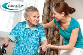 How To Assist Someone With Dementia With Bathing Shower Bay