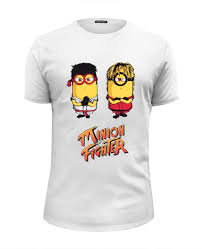 Футболка Wearcraft Premium Slim Fit <b>Minion</b> Fighter #1104037 от ...