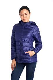 alpine swiss womens hooded down jacket puffer bubble coat packable light parka 0