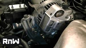 How to Replace an Alternator on a 1999 Toyota Camry 2.2L Engine ...