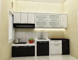 desain kitchen set minimalis mungil