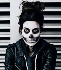 skull makeup tutorial