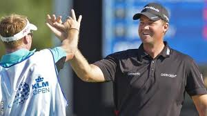 Peter Hanson wins the KLM Open with eagle on final hole - BBC Sport