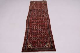 oversized hossainabad runner persian oriental area rug carpet wool 3 6x14