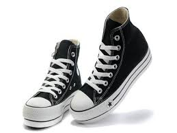 converse shoes black high top. buy converse all star heighten classic black high top canvas shoes