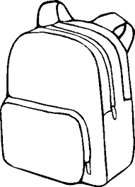 Small Picture School equipment 11 Objects Printable coloring pages