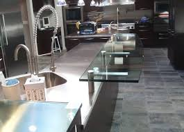 stainless steel brackets brooks custom home page a metal countertops michigan