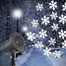 Christmas Snowflakes Pictures Mini Snowfall Projector Christmas Snowflakes Led Laser Light Snow Falling Outdoor Waterproof Xmas New Year Party Decor Lamps Christmas Laser Light