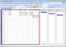 Microsoft Gantt Chart Back To Basics Gantt Chart View Microsoft Project 2010