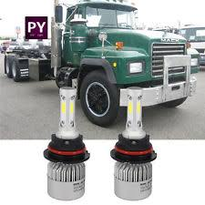 mack ch motors pair led headlight headlamp bulb kit for mack rd ch sfa mack ch600 16000lm total