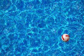 Brilliant Pool Water With Beach Ball Floating In The Blue Clear Of Design Decorating