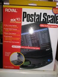 Royal Ex10 Usps Style Digital Shipping Postal Scale
