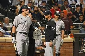 Aaron Judge exits Yankees-Mets games ...
