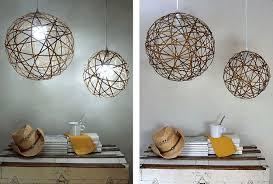 6 bamboo orb lights