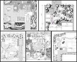 Garden Landscape Design Drawings Villa Landscape Design Rooftop Garden Community Garden Cad Drawings Bundle V 2 All Kinds Of Landscape Design Cad Drawings