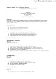 Nurse Resume Examples Stunning Cover Letters For Nursing Resumes Andaleco