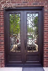 Custom wrought iron front door.   Double doors   Pinterest   Iron ...