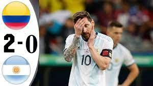 Argentina vs Colombia 0-2 |