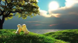 Wallpaper: Cute Little Love Couple ...