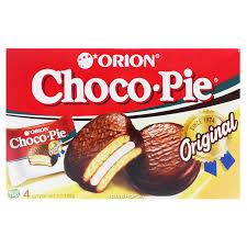 Шоколадные <b>пирожные</b> Чоко Пай (<b>Choco Pie</b>) <b>Orion</b> (4 шт.), 120 г ...