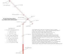 rotating pvc flagpole flag pole