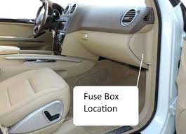 Ml320 W164 Fuse Box Diagram Fuses M Class Location Wiring In