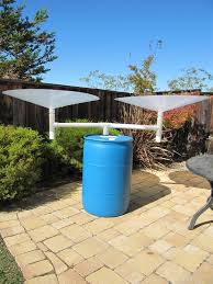 build your own standalone rainwater harvesting system with rainsaucers