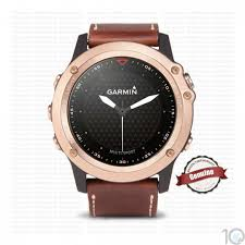 garmin fenix 3 sapphire rose gold with leather band 10kya com garmin watches