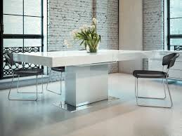 lacquer furniture modern. Awesome And Beautiful White Lacquer Furniture Contemporary Extendable Dining Table With Three Color Options St Modern