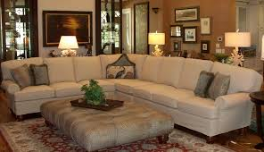 a summer look for a leather sectional