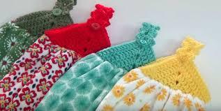 Crochet Towel Topper Pattern Extraordinary Crochet Towel Topper Instructions Creative Grandma