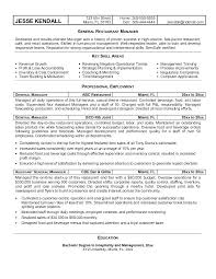 fast food restaurant manager resume resume examples restaurant manager restaurant resume example new