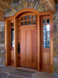 Decorating wood front entry doors with sidelights images : Wood Entry Doors. Double Front Entry Doors Orleans Panel Design ...