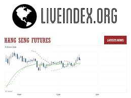 Hang Seng Futures Hsi Futures Hang Seng Futures Rates