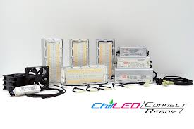 500w chilled connect drive ready diy led grow light kit