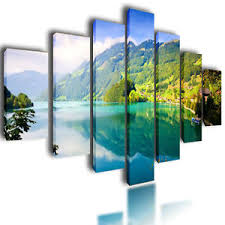 image is loading huge extra large canvas pictures wall art green  on extra large multi panel wall art with huge extra large canvas pictures wall art green split nature multi